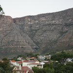 Looking back towards Table Mountain from our balcony