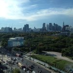 Lumpini Park view