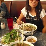 Pho and my lovely wife