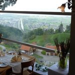 Blick aus dem Restaurant