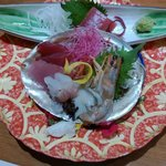 one of the courses for the kaiseki