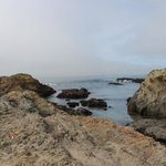 The shoreline at Glass Beach