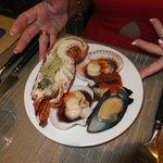 Lobster,Scallops,Mussels