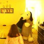 Hug from Snoopy
