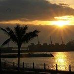 花蓮白色沙灘民宿三樓海景房看日出