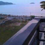 на крыше отеля