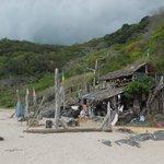"""Robinson's"" - abandoned business on Nui Beach"