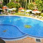 nice and big pool