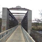 The recently restored Railway Bridge across the Spey (Speyside Way Walk)