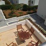 vue de la seconde terrasse du logement ch 103