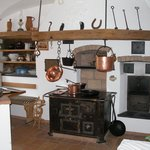 Preserved old kitchen