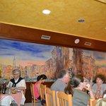 Al Vaporetto's 'mural' wall