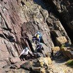 Rock Climbing Skils Course in Knockadoon