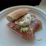 1/2 Classic Italian Sub w/fresh mozzarella