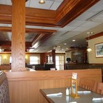 interior of Swiss Chalet