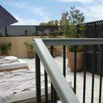 Terrasse du jacuzzi