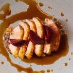 Duck with Rosti and glazed Beetroot