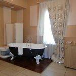 baignoire stylee dans la chambre