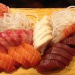 sashimi yum!