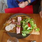 galette raclette