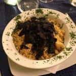 Il piatto di cous-cous al pesce