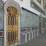 beautiful mosaics in the halls of the Fourth Courtyard