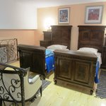 Bedroom loft area of Royal apartment