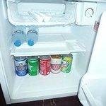 冷蔵庫は自由に使えます。