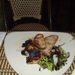 """foie gras poilé """"iresistible"""""""