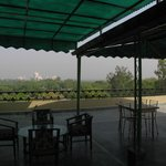 Restaurant and view at terrace