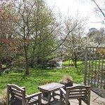The garden from Douglas's Barn terrace