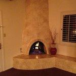Southwestern-style Fireplace