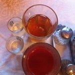 vodka/juice go well with vareniks