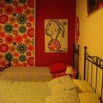 la stanza rossa!