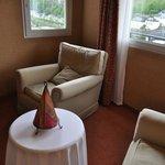 Petit salon privé dans la chambre