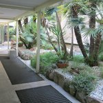 Ground reception area