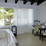 Guest suite & Jacuzzi tub