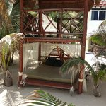 2-story beach palapa