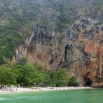 Phra Nang Beach. (Trip avec le bâteau de l'hôtel)