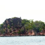 Red Island. (Trip avec le bâteau de l'hôtel)