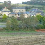 Pitt Farm Holiday Cottages from Nearby Road