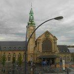 Gare de Luxembourg vanuit onze kamer