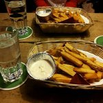 French fries with mayo.