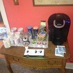 Nice Keurig coffee provided