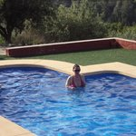 Fi in the pool