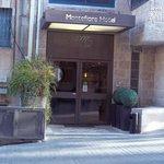 Montefiore Hotel entrance