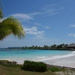 caleton beach club - main beach area.  slice of perfection!