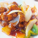 Sweet and Sour Pork at Ma On Shan Restaurant