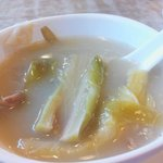 Brooth soup at Ma On Shan Restaurant