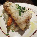 Pan roasted cod was terrific